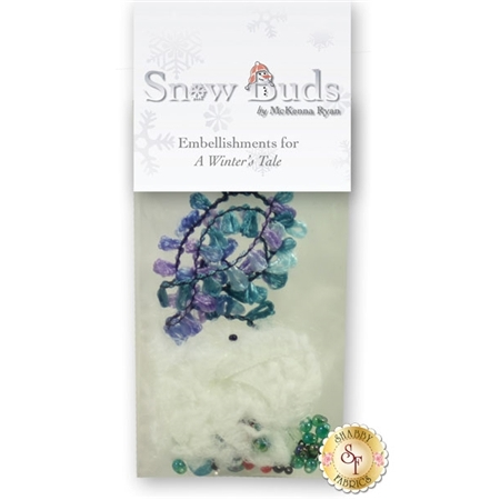 Snow Buds - A Winter's Tale Embellishing Kit