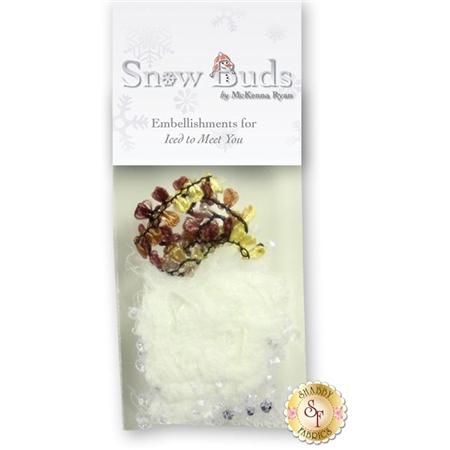 Snow Buds - Iced To Meet You Embellishing Kit