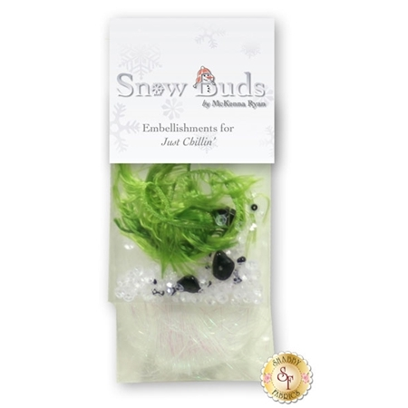 Snow Buds - Just Chillin' Embellishing Kit