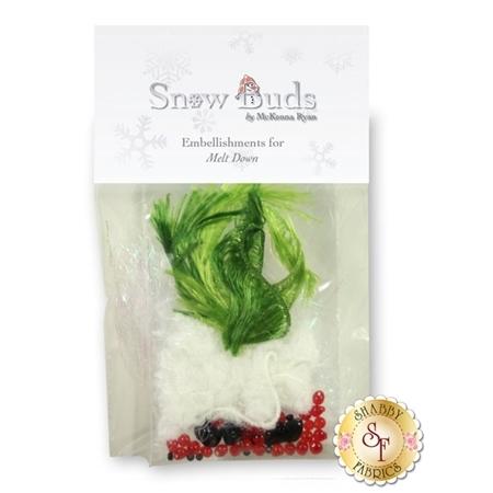 Snow Buds - Melt Down Embellishing Kit
