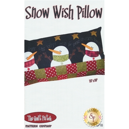 Snow Wish Pillow Pattern
