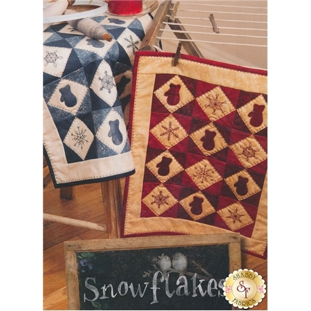 Snowflakes Quilt Pattern - Blueberry Backroads