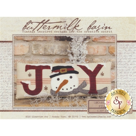 Snowman Joy Pillow Pattern