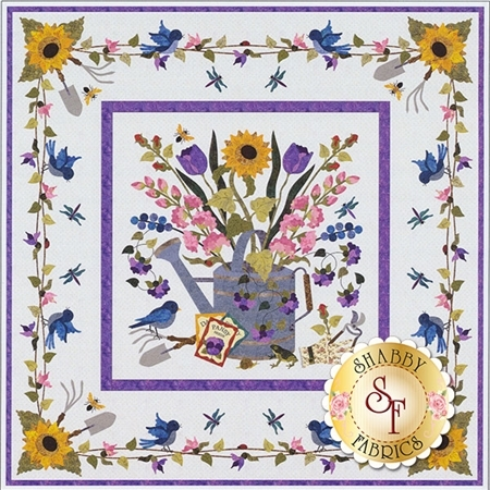 Spring Bouquet Wall Hanging Pattern