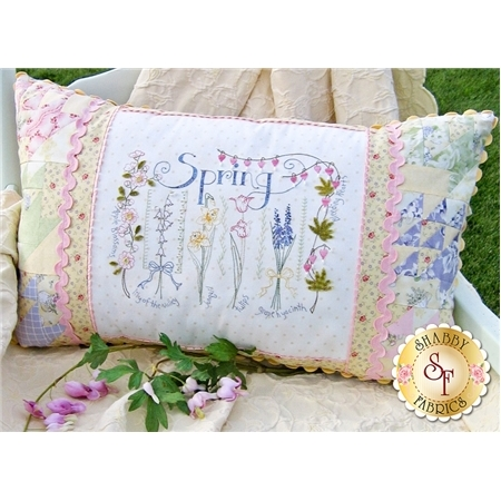Spring Sampler Pillow Pattern