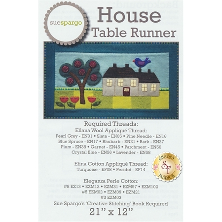 House Table Runner Pattern