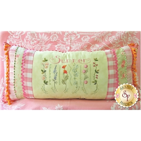Summer Sampler Pillow Pattern