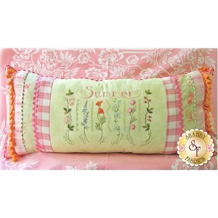 Summer Sampler Pillow Pattern