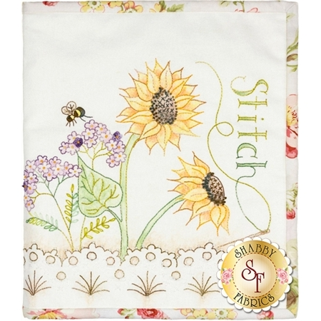 Sunflower Stitchery Folder Pattern