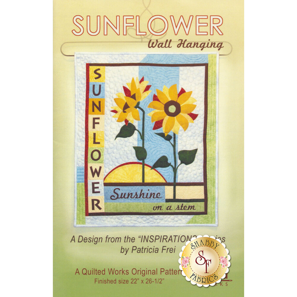 Sunflower Wall Hanging Pattern now available