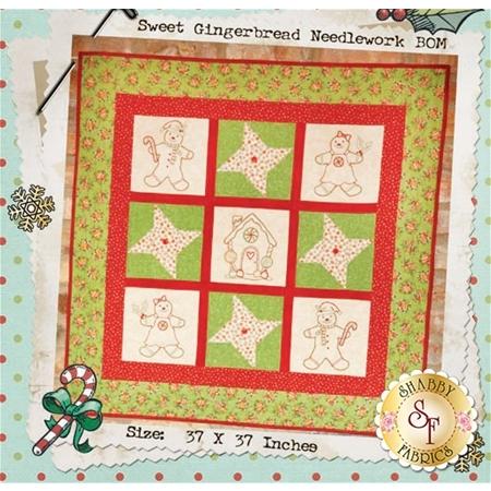 Sweet Gingerbread Needlework Pattern