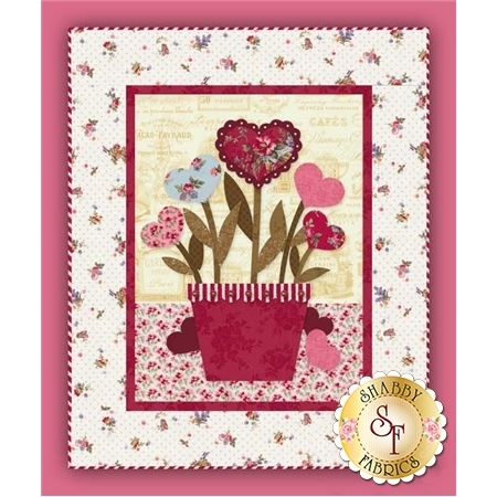 Sweetheart Bouquet Wall Hanging Pattern