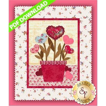 Sweetheart Bouquet Pattern - PDF Download