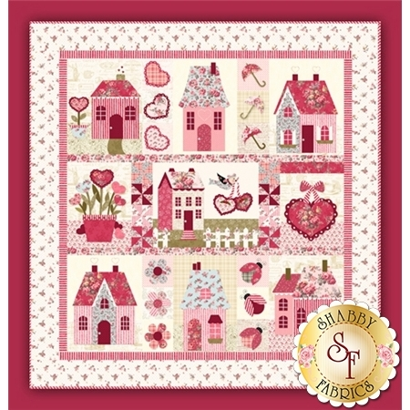 Sweetheart Houses Pattern