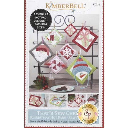 That's Sew Chenille Christmas Hot Pads - Kimberbell Pattern
