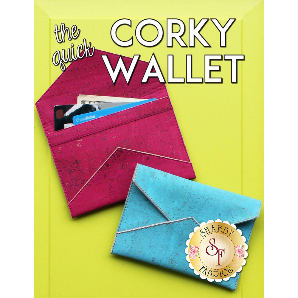 The Quick Corky Wallet Pattern now available