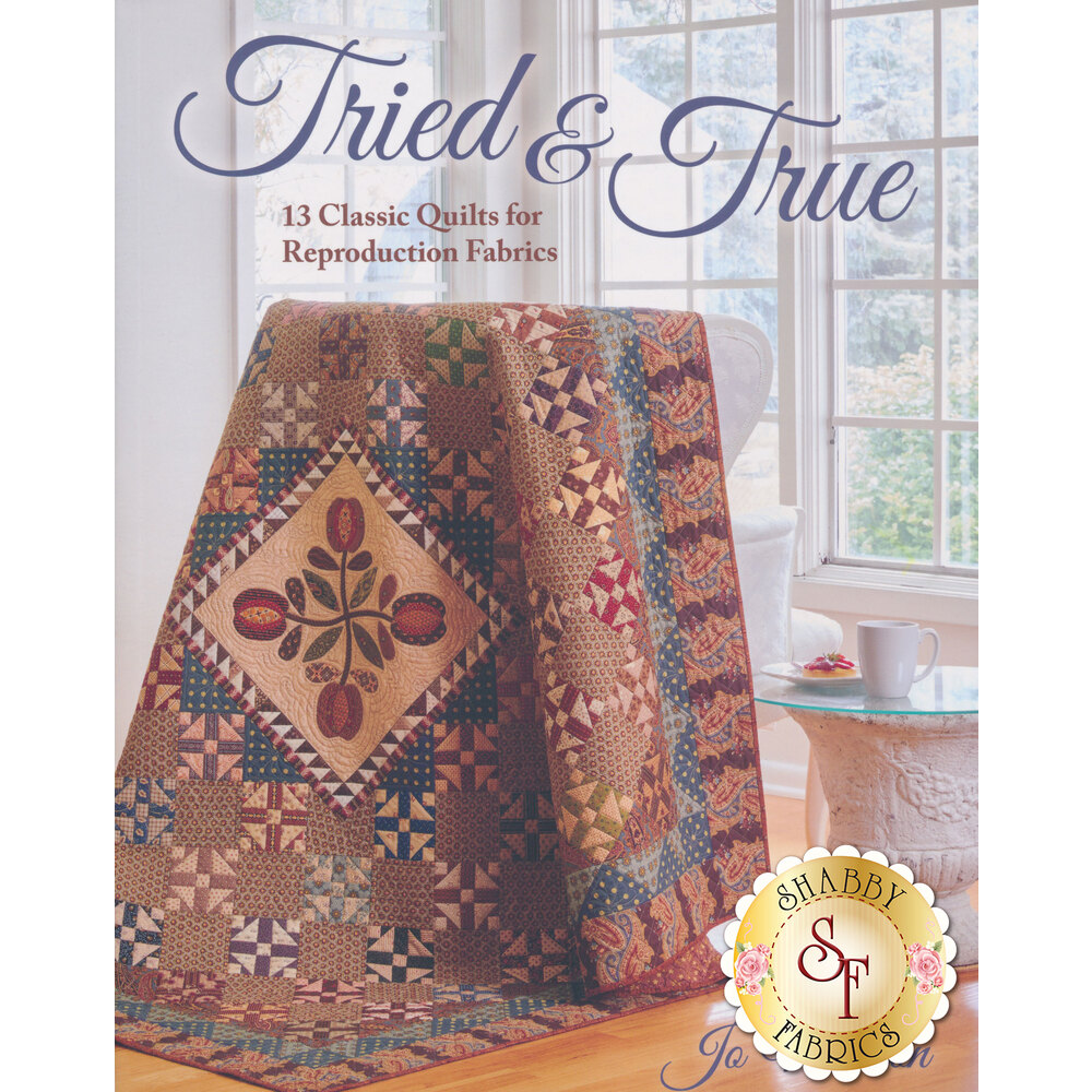 Front of the Tried and True pattern book | Shabby Fabrics