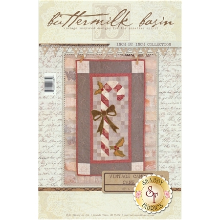 Vintage Candy Cane Wall Hanging Pattern