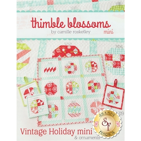 Vintage Holiday Mini Pattern