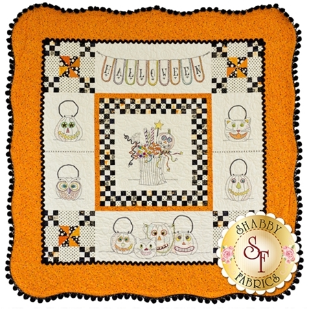 Vintage Trick or Treat pattern