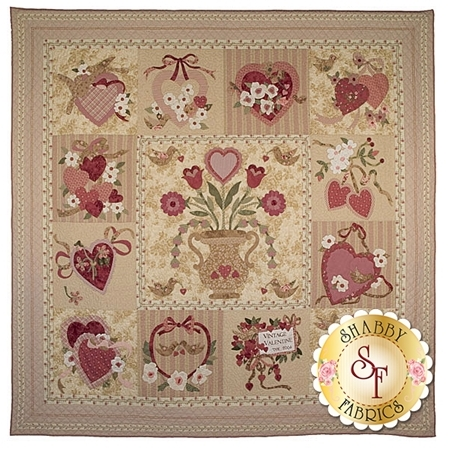 Vintage Valentine Heirloom Quilt Pattern