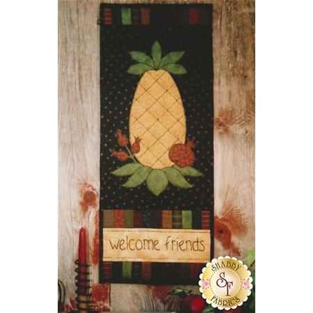 Back Door Quilt Series - Welcome Friends Pattern