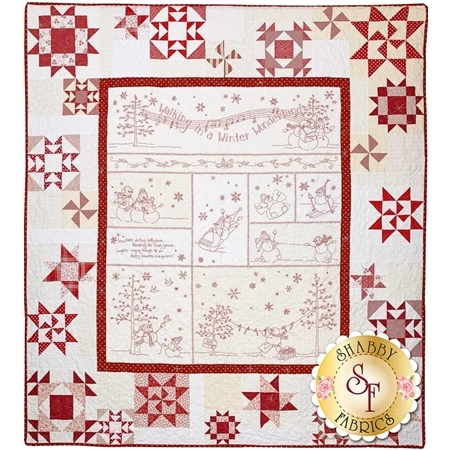 Winter Wonderland Pattern - Crab Apple Hill