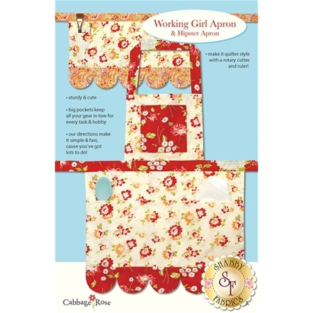 Working Girl Apron & Hipster Apron Pattern