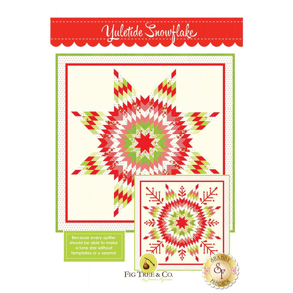 Yuletide Snowflake Pattern