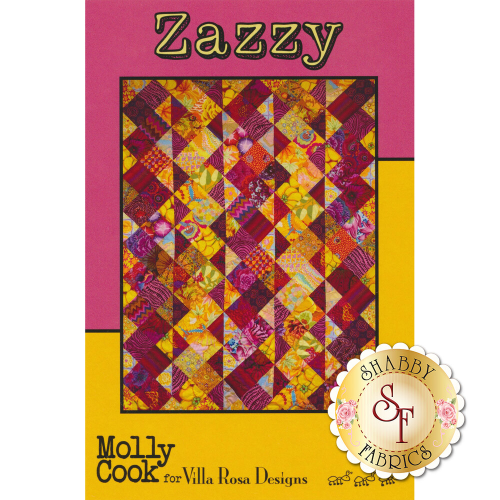 The front of the Zazzy Pattern | Shabby Fabrics