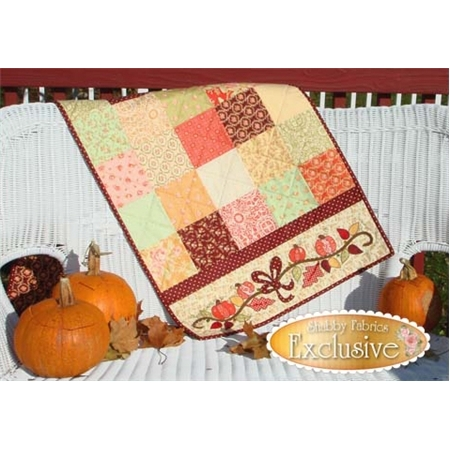 Autumn Sparkle Table Runner Pattern