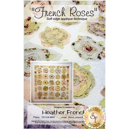 French Roses Pattern by Heather French