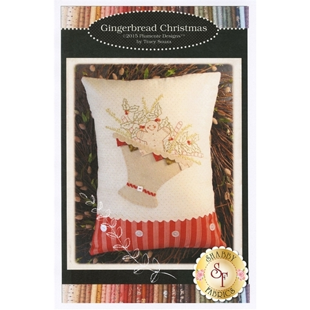 Gingerbread Christmas Pillow