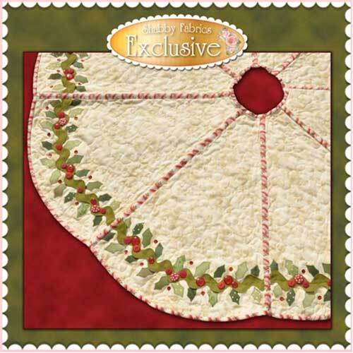 Holly & Berries Tree Skirt Pattern