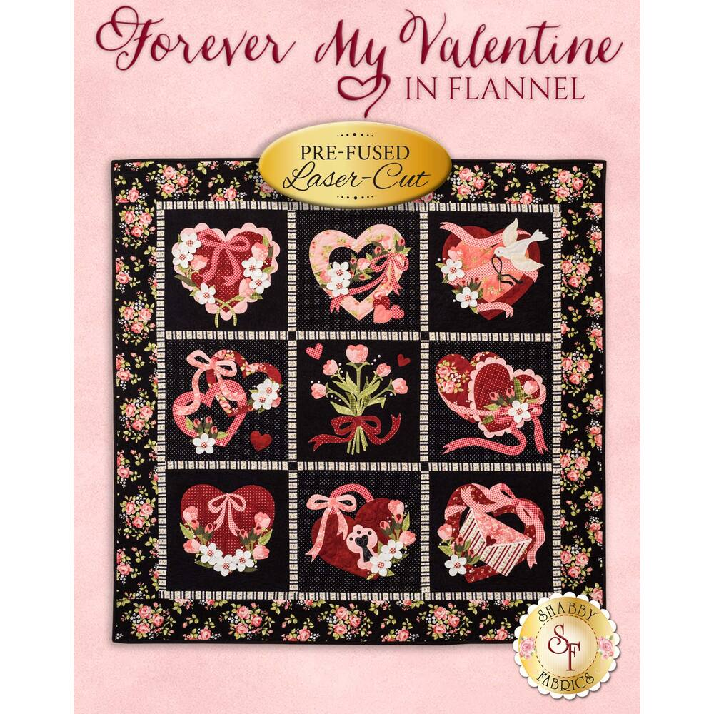Forever My Valentine In Flannel Quilt Kit