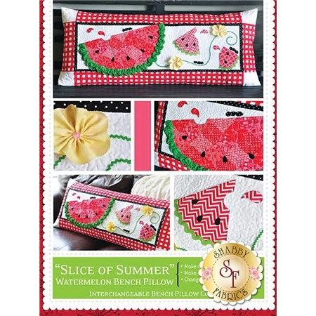 Slice of Summer - Kimberbell Bench Pillow Pattern