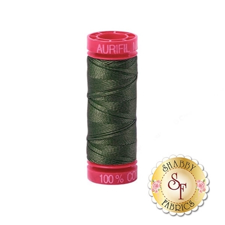 Aurifil Cotton Thread Army Green - 12wt 54yds