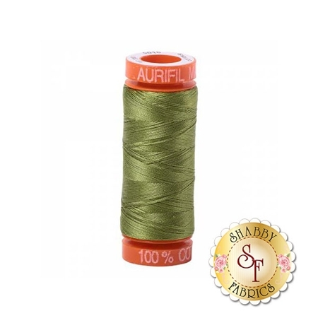 Aurifil Cotton Thread Olive Green - 50wt 220yds