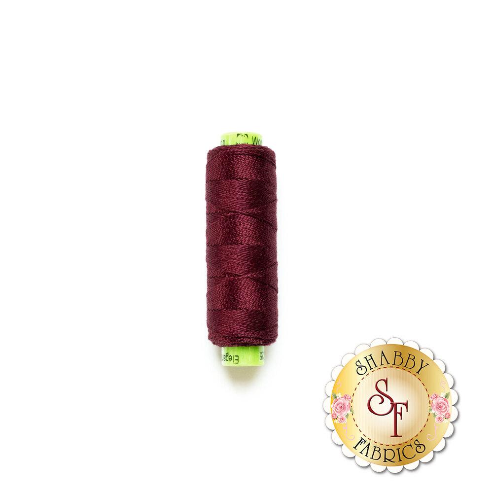 Spool of Eleganza #8 EZ25 Signature Wine | Shabby Fabrics