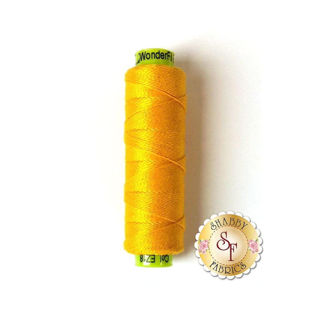 A spool of beautiful yellow thread - Eleganza EZ18 Lemon Curd