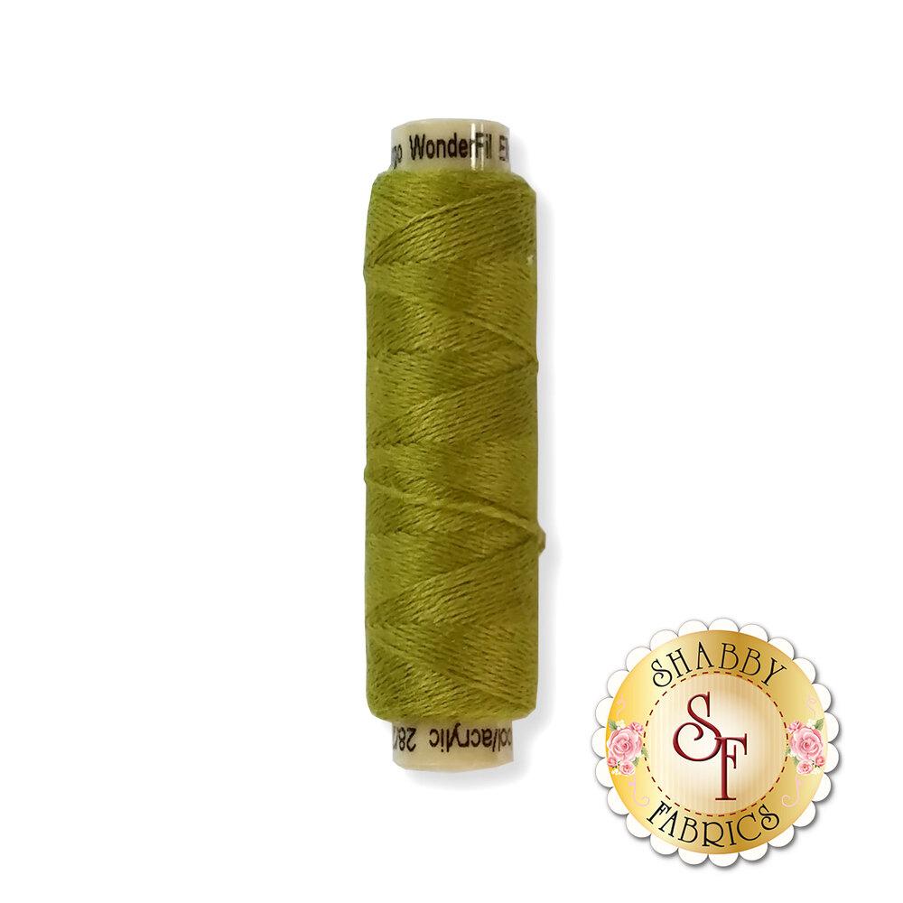 Spool of Ellana Wool Thread EN12 Avocado | Shabby Fabrics