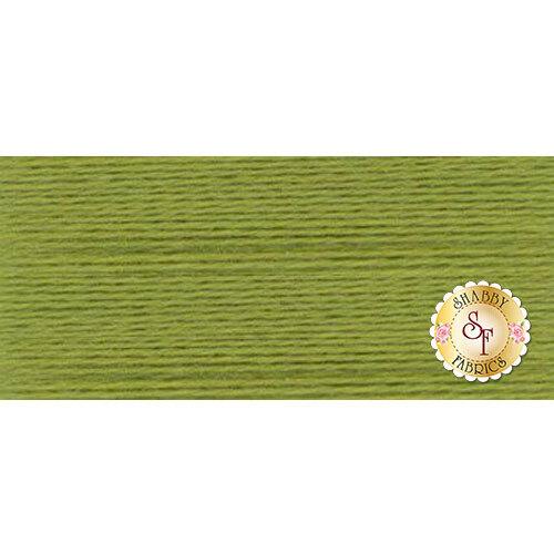 Swatch of Ellana Wool Thread EN13 Electric Lime | Shabby Fabrics