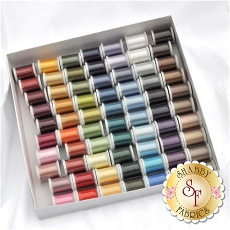 Kimono Silk Thread  Set of 80 Colors by Superior Threads