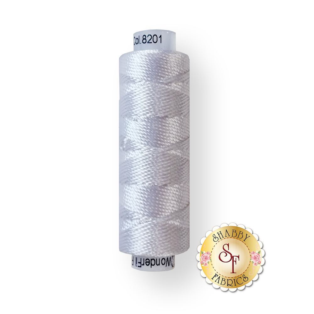 Razzle Thread 8201 White - 55 yds