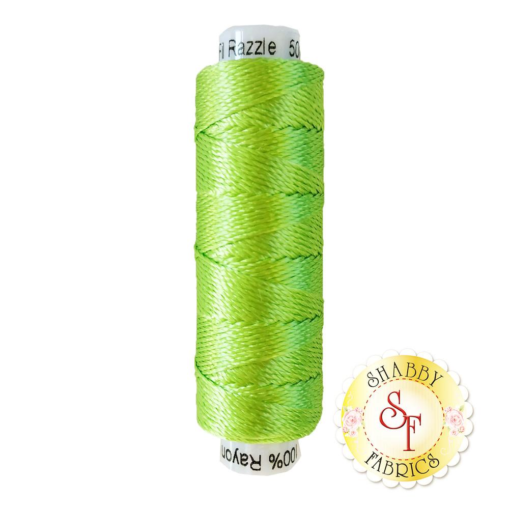 Razzle Thread 4151 Parrot Green - 50 yds | Shabby Fabrics