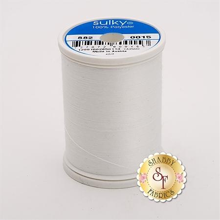 Sulky Bobbin Thread - White 882-0015