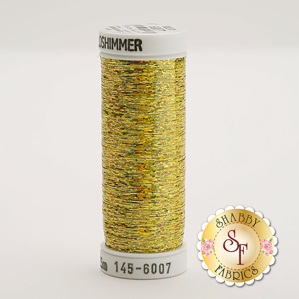 Sulky Holoshimmer Metallic #6007 Gold 250 yd Thread