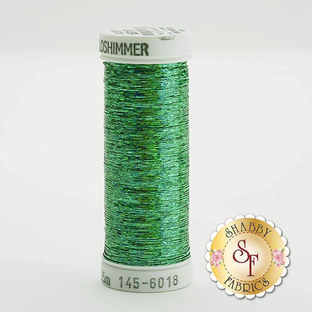 Sulky Holoshimmer Metallic #6018 Christmas Green 250 yd Thread