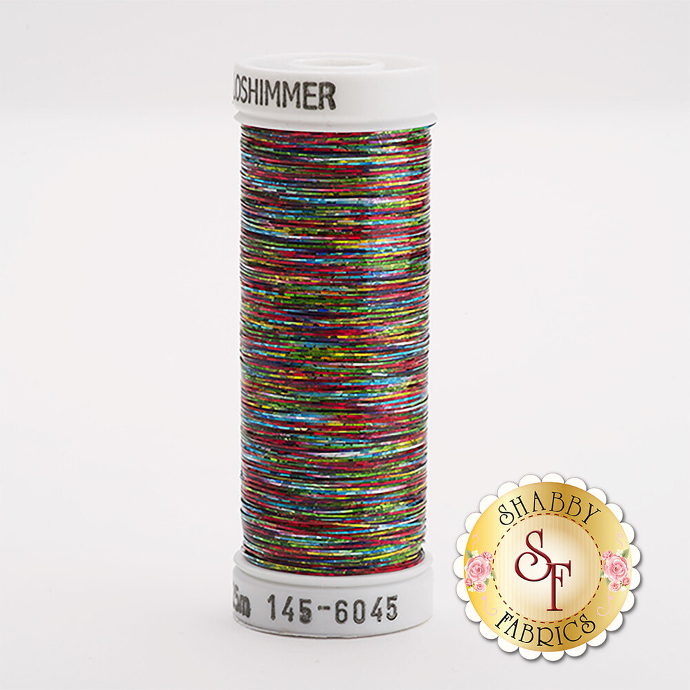 Sulky Holoshimmer Metallic #6045 Multi Dark 250 yd Thread