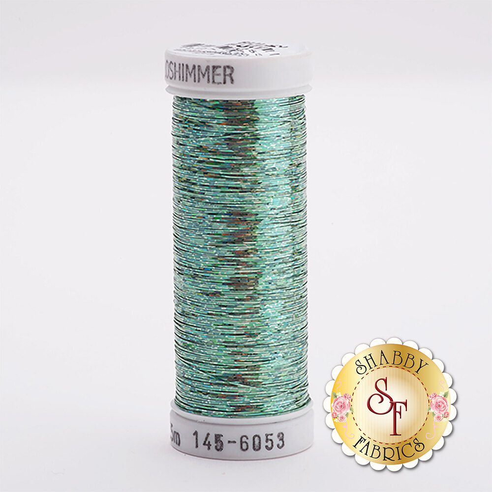 Sulky Holoshimmer Metallic #6053 Mint Green 250 yd Thread